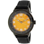 Seapro Men's Wave SP3111 Orange Rubber Quartz Watch
