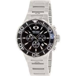 Precimax Men's Instinct Pro PX14011 Silver Stainless-Steel Quartz Watch