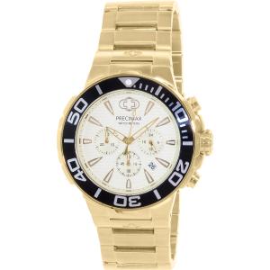 Precimax Men's Instinct Pro PX14012 Gold Stainless-Steel Quartz Watch