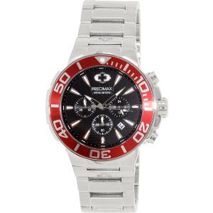 Precimax Men's Instinct Pro PX14014 Silver Stainless-Steel Quartz Watch
