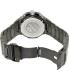 Precimax Men's Instinct Pro PX14015 Black Stainless-Steel Quartz Watch - Back Image Swatch