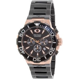 Precimax Men's Instinct Pro PX14016 Black Stainless-Steel Quartz Watch