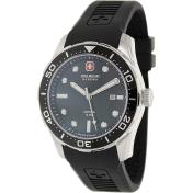 Swiss Military Hanowa Men's 06-4213-04-007 Black Rubber Swiss Quartz Watch
