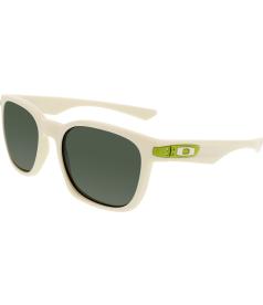 Oakley Men's Garage Rock OO9175-10 White Square Sunglasses