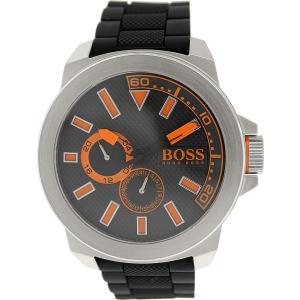 Hugo Boss Men's 1513011 Black Rubber Quartz Watch