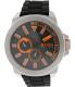 Hugo Boss Men's 1513011 Black Rubber Quartz Watch - Main Image Swatch
