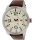 Tommy Hilfiger Men's 1791013 Brown Leather Analog Quartz Watch - Main Image Swatch
