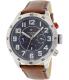 Tommy Hilfiger Men's 1791066 Blue Leather Analog Quartz Watch - Main Image Swatch