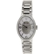 Bulova Women's Diamond 96R193 Silver Stainless-Steel Quartz Watch