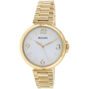 Bulova Women's Classic 97L139 Gold Stainless-Steel Quartz Watch