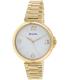 Bulova Women's Classic 97L139 Gold Stainless-Steel Quartz Watch - Main Image Swatch