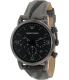 Emporio Armani Men's Classic AR1817 Gunmetal Nylon Quartz Watch - Main Image Swatch