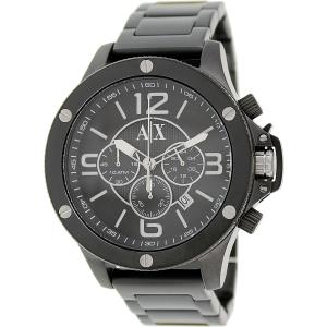 Armani Exchange Men's AX1503 Black Stainless-Steel Quartz Watch