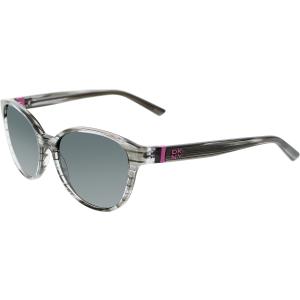 Dkny Women's  DY4117-344987-55 Black Round Sunglasses
