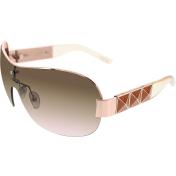Guess Women's  GU7312-GLD-34 Gold Shield Sunglasses