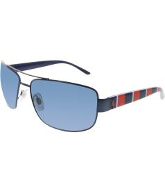 Polo Men's  PH3087-926480-64 Blue Square Sunglasses