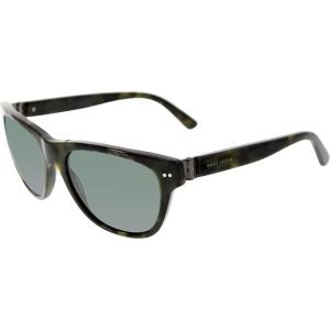 Polo Women's  PH4080-542871-55 Green Rectangle Sunglasses