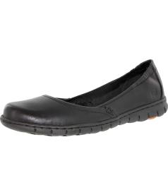 Born Women's Reija Ankle-High Leather Flat Shoe