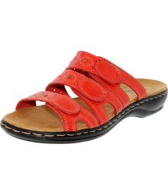 Clarks Women's Leisa Cacti Ankle-High Leather Sandal