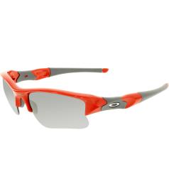 Oakley Men's Flak Jacket 03-902 Red Wrap Sunglasses