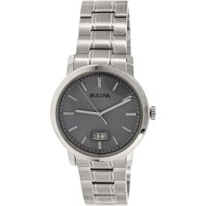 Bulova Men's Classic 96B200 Silver Stainless-Steel Quartz Watch