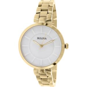 Bulova Women's Classic 97L142 Gold Stainless-Steel Quartz Watch