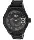 Adidas Men's Newburgh ADH2963 Black Rubber Quartz Watch - Main Image Swatch