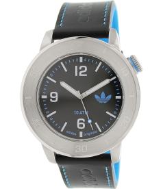 Adidas Men's Manchester ADH2972 Silver Leather Quartz Watch