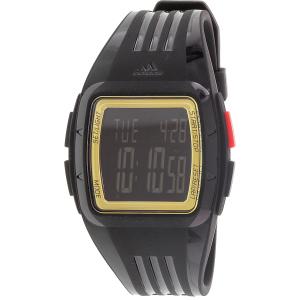 Adidas Men's Duramo ADP6136 Black Rubber Quartz Watch
