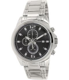 Citizen Men's Chronograph AN3550-55E Black Stainless-Steel Quartz Watch