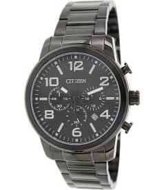 Citizen Men's AN8055-57E Black Stainless-Steel Quartz Watch