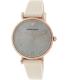 Emporio Armani Women's Retro AR1681 Champagne Leather Quartz Watch - Main Image Swatch