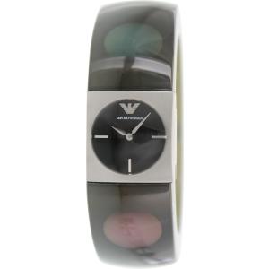 Emporio Armani Women's AR7378 Black Plastic Quartz Watch