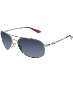 Oakley Women's Given OO4068-01 Silver Aviator Sunglasses
