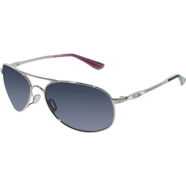 oakley women 39 s given oo4068 01 silver aviator sunglasses. Black Bedroom Furniture Sets. Home Design Ideas