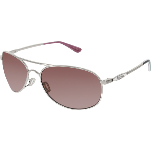 d9f87728a1 Editorial Pick Oakley Women s Polarized Given OO4068-07 Silver Aviator Sung