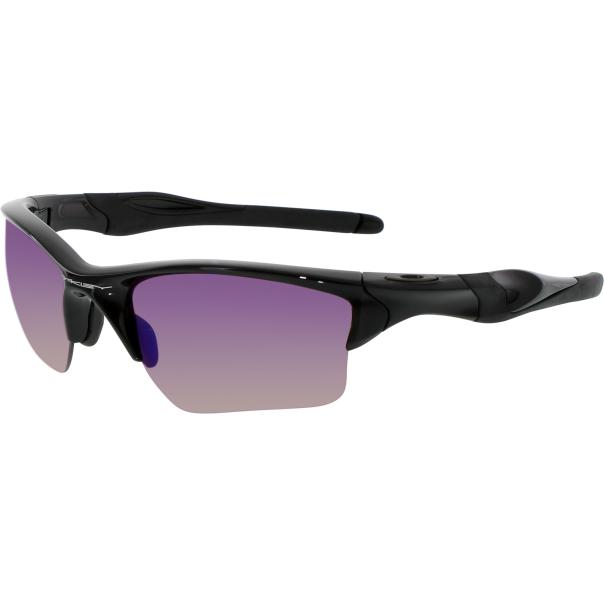 Rimless Glasses Oakley : Oakley Mens Polarized Half Jacket OO9154-27 Black Semi ...