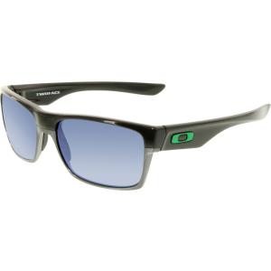 Oakley Men's Twoface OO9189-04 Black Square Sunglasses
