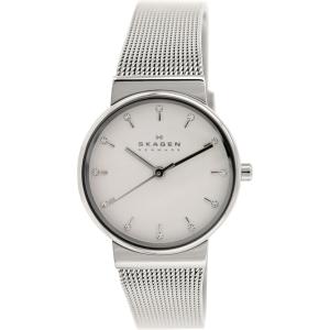 Skagen Women's Ancher SKW2195 Metallic Silver Stainless-Steel Quartz Watch