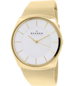 Skagen Men's Havene SKW6069 Gold Stainless-Steel Quartz Watch