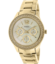 Fossil Women's Stella ES3589 Gold Stainless-Steel Quartz Watch