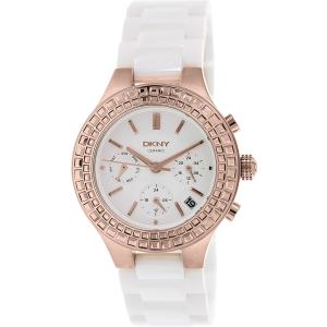 Dkny Women's Chambers NY2225 White Ceramic Quartz Watch