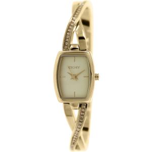 Dkny Women's Crosswalk NY2237 Gold Stainless-Steel Quartz Watch