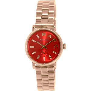 Marc by Marc Jacobs Women's Baker MBM3347 Rose Gold Stainless-Steel Quartz Watch