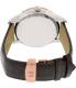 Tissot Men's Classic T912.410.46.011.00 Black Leather Swiss Quartz Watch - Back Image Swatch