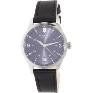 Victorinox Swiss Army Women's Alliance 241542 Black Leather Swiss Quartz Watch