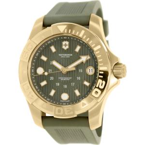 Victorinox Swiss Army Women's Dive Master 500 241557.1 Green Silicone Swiss Quartz Watch