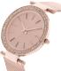 Michael Kors Women's Darci MK3369 Rose-Gold Stainless-Steel Quartz Watch - Side Image Swatch