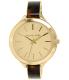 Michael Kors Women's Slim Runway MK4293 Gold Stainless-Steel Quartz Watch - Main Image Swatch