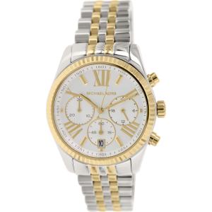 Michael Kors Women's Lexington MK5955 Silver Stainless-Steel Quartz Watch
